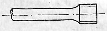图3-1-4螺纹形拉伸试样头部