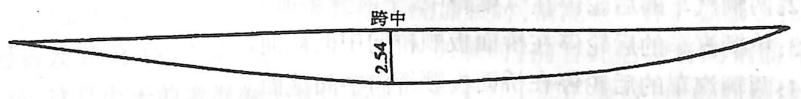 image.png图3-6-17左纵梁挠曲变形(单位:mm)