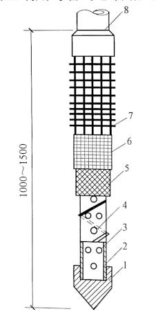 图3-4滤管构造图