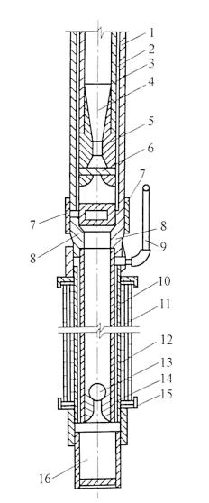 图3-13喷射井点管构造