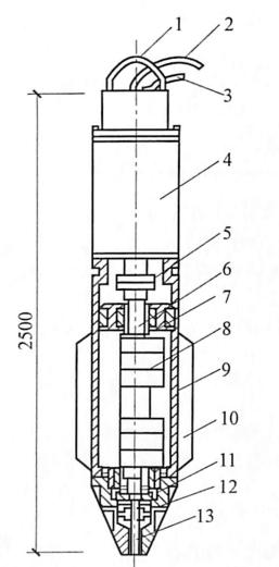 图7-4振冲器构造