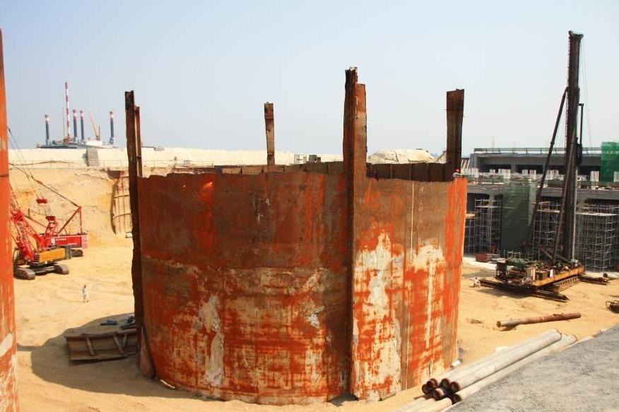 建筑拆除筒仓和貯槽