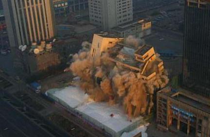 楼房拆除质量控制爆破