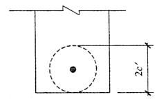 图3-10钢筋锚固形成的拉力环
