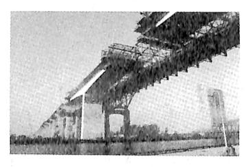 图5-2钢筋混凝土桥